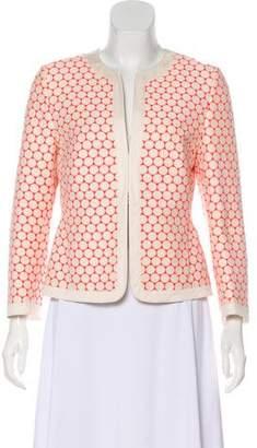 Akris Punto Structured Patterned Jacket