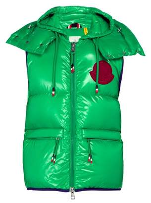 Moncler 2 1952 - Lorent Quilted Down Gilet - Mens - Green Multi