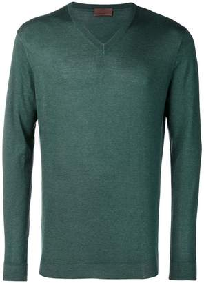 Altea fine knit V-neck sweater
