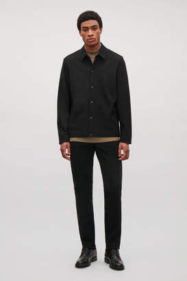 Cos JACKET WITH PRESS STUDS