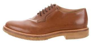 Dries Van Noten Leather Derby Shoe