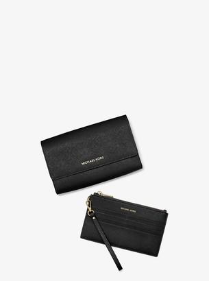 MICHAEL Michael Kors Saffiano Leather 3-in-1 Crossbody