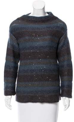 Brunello Cucinelli Cashmere Sequined Sweater w/ Tags