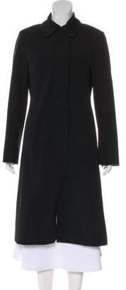 Burberry Long Button-Up Coat