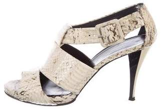 Pierre Hardy Peep-Toe Cutout Sandals