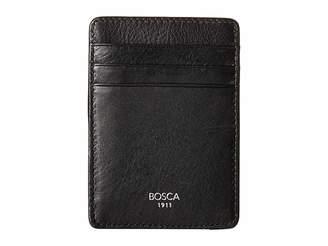 Bosca Nappa Vitello Collection - Deluxe Front Pocket Wallet