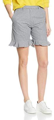 Peter Jensen Women's WT4931 CH Tapered|#199 Checkered Shorts,(Manufacturer Size:Large)