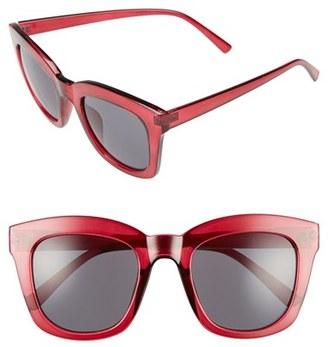 Women's Bp. 50Mm Mirror Square Sunglasses - Burgundy $12 thestylecure.com
