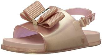 Mini Melissa Girls' Mini Beach Slide Jason WU Flat Sandal,10 Medium US Toddler