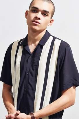 Urban Outfitters Paneled Rayon Bowling Shirt