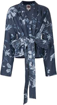 I'M Isola Marras belted floral print jacket
