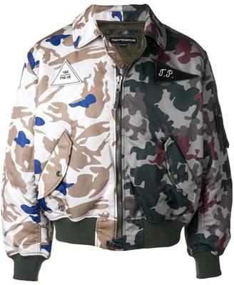 Gosha Rubchinskiy camouflage padded bomber jacket