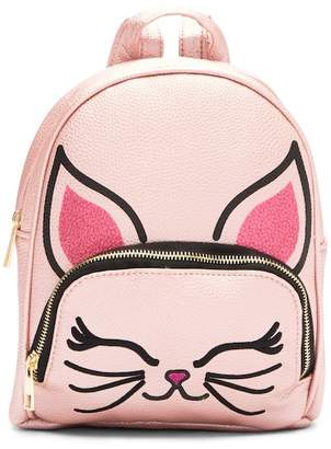 OMG! Accessories Kitty Face Mini Backpack