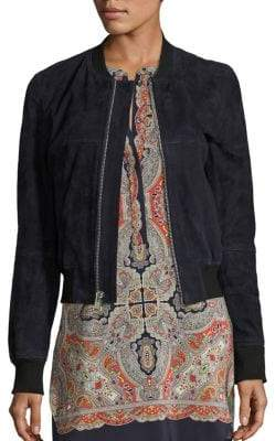 Theory Daryette S Benna Leather Jacket