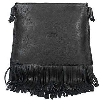 Leather Fringe Crossbody Bag for Women - Ladies Handbag Tassel Shoulder Hobo Bags (