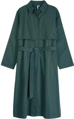 Mamamushi - Military Green Colombo Trench Coat - T2 - Green