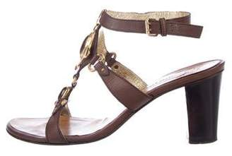 Giuseppe Zanotti Embellished Mid-Heel Sandals