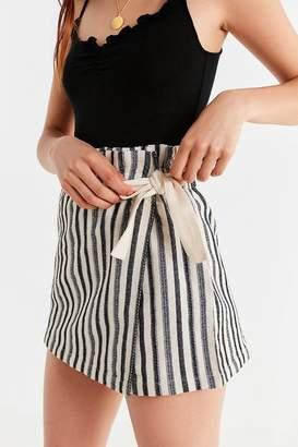 Urban Outfitters Paperbag Wrap Skort Short