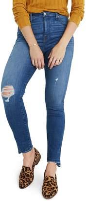 Madewell 10-Inch Drop Step Hem High Waist Skinny Jeans