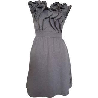 JC de CASTELBAJAC Anthracite Cotton Dresses