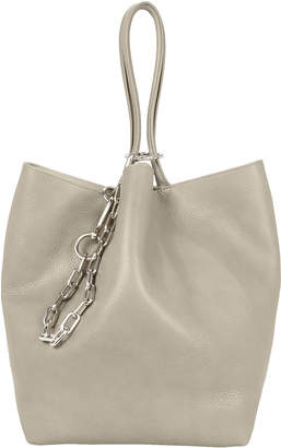 Alexander Wang Roxy Small Grey Leather Tote