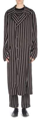 Haider Ackermann Striped Raglan Coat