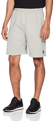 Flying Ace Men's Fleece 2 Pocket Shorts with Logo Embroidery