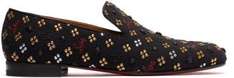 Christian Louboutin Rollerboy Jacquard Loafers - Mens - Multi
