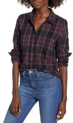 Vans Meridian Boyfriend Fit Flannel Shirt
