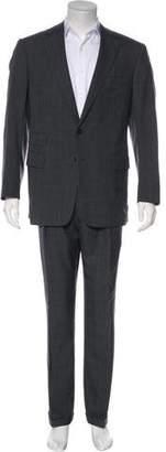 Ralph Lauren Purple Label Glen Plaid Wool & Cashmere Suit