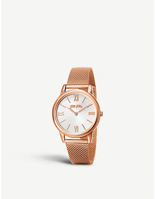 Folli Follie WF15R032BPW_XX Match Point rose gold-plated watch