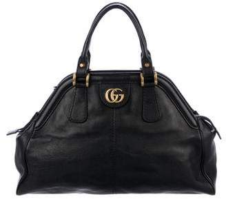 Gucci 2018 Re(Belle) Medium Top Handle Bag