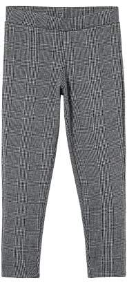 MANGO Checks print leggings
