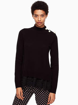 Kate Spade Lace inset sweater