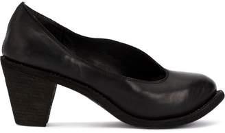 Guidi chunky-heel pumps