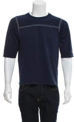 MAISON KITSUNÉ Contrast Stitch Crew Neck T-Shirt