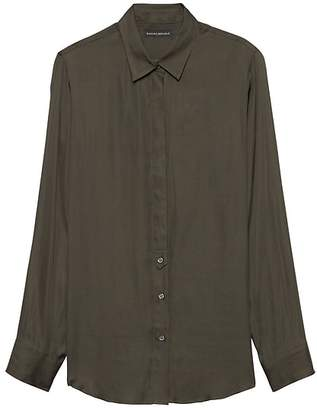 Banana Republic Petite Dillon Classic-Fit Soft Shirt