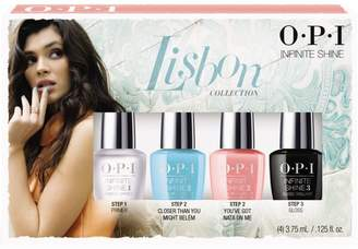 OPI Infinite Shine Lisbon Mini 4 Piece Kit