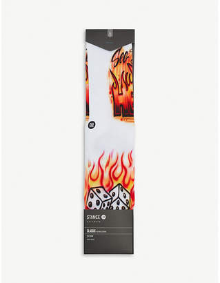Stance Airbrush Hell cotton-blend socks