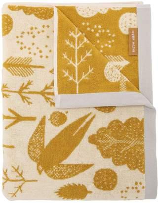 Bird & Tree Cotton Terrycloth Bath Towel