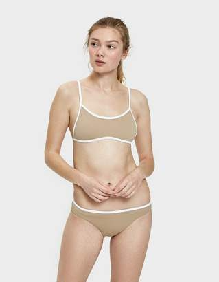 Valencia Swim Bottom in Taupe