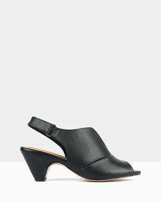 Airflex Cassie Sling Back Heeled Sandals