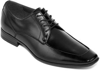 Jf J.Ferrar JF Breton Mens Moc-Toe Oxford Dress Shoes
