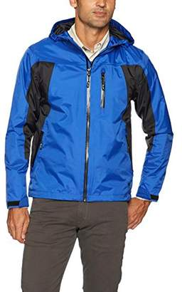 Wrangler Men's Waterproof Zip Front Rain Jacket