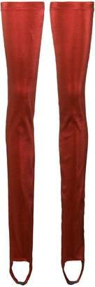 Paula Knorr Ruffled Legwarmer leggings