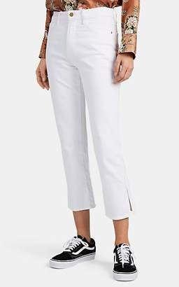 Frame Women's Le Sylvie Crop Jeans - White