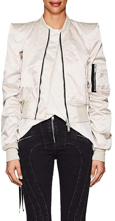 Ben Taverniti Unravel Project Women's Tech-Canvas Bomber Jacket