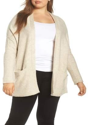Caslon Dolman Sleeve Cardigan (Plus Size)