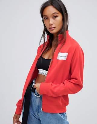 Calvin Klein Jeans Calvin Klein Zip Through Tracksuit Jacket with Badge Logo
