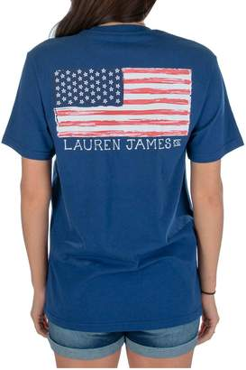 Ralph Lauren James American Flag Tee